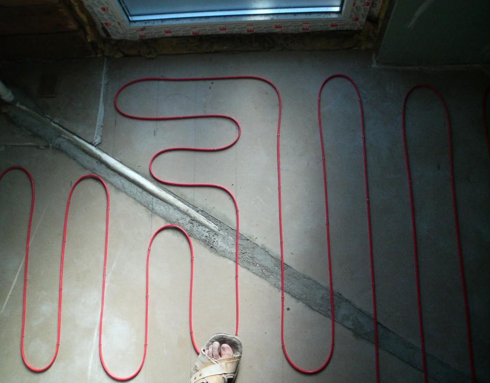 Põrandakütte paigaldus
